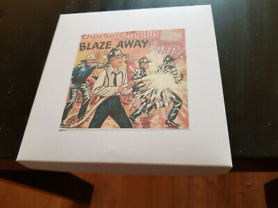 Blaze Away - Charlie Chaplin 200Ft Super 8 8Mm B/W Silent Cine Film