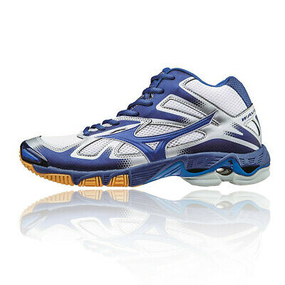 MIZUNO MENS WAVE Drive Neo Table Tennis Shoes Blue Sports