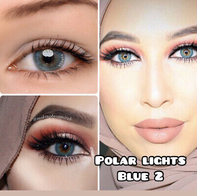Lentillas de colores Anuales Polar Light Blue 2