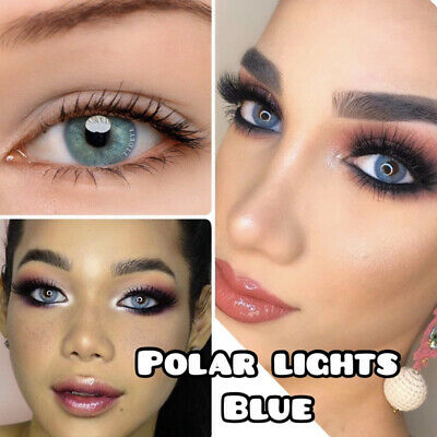 Lentillas de colores Anuales Polar Light Blue