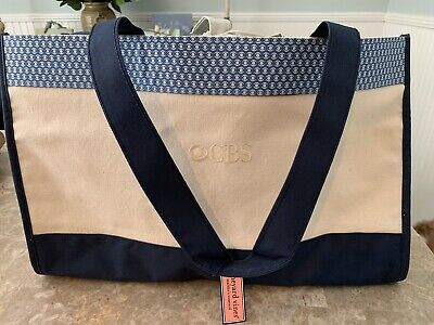 New Authentic Vineyard Vines Holiday Christmas Tote Bag Pouch Stocking Stuffer