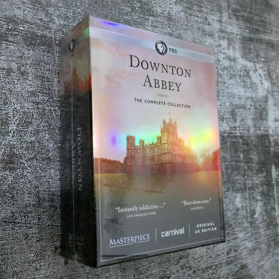 Downton Abbey:The Complete Series Collection DVD Region1 New Sealed