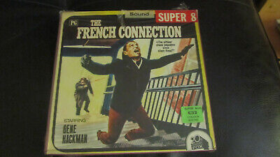 The French Connection Super 8 Colour 400Ft Sound Cine 8Mm Film Hackman