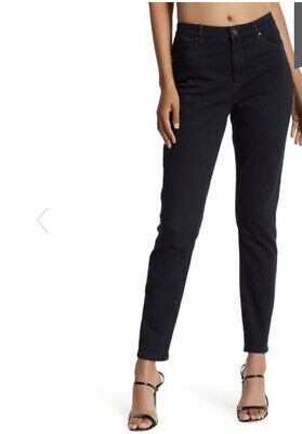 Blank NYC Crybaby Coated Skinny Jeans Dark Navy Blue 31 NEW