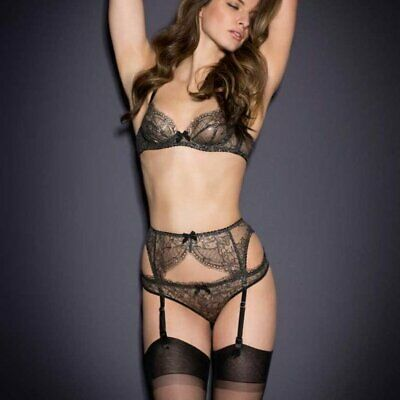 NWT Agent Provocateur SOIREE Sianna Suspender AP2