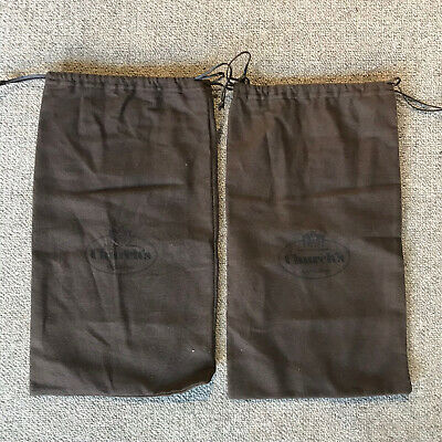 New Church's Shoe Bags - Brushed Cotton