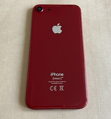 TELAIO SCOCCA POSTERIORE iPhone 8 BACK HOUSING ROSSO/RED