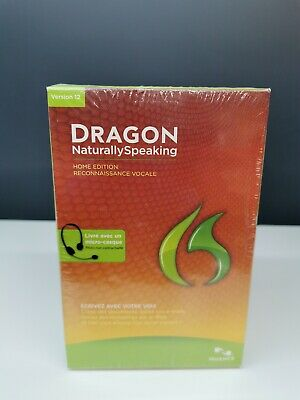 Dragon naturally speaking v12 - édition home
