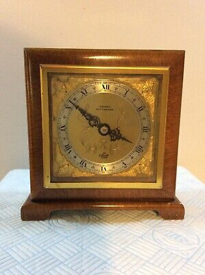 """Elliott Mantel Clock Untested For Spares Or Repair, 5.9"""" Tall,  (May Nottingham)"""