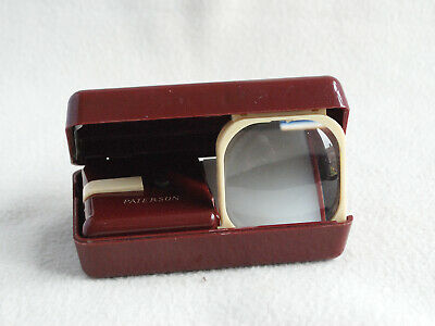Vintage Paterson Folding Bakelite Slide Viewer