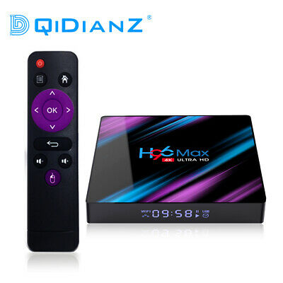 H96 Max Android 9.0 Quad Core 4K HD 2.4G/5G WiFi BT4.0 lecteur Multimédia TV BOX