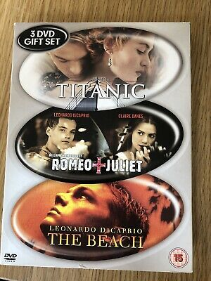 Titanic/The Beach/Romeo and Juliet DVD (2003) Leonardo DiCaprio, Luhrmann (DIR)
