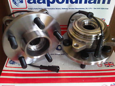 Land Rover Discovery 2.5 TD5 4.0 V8 98-04 (2X) Roue Arrière Roulement Moyeux