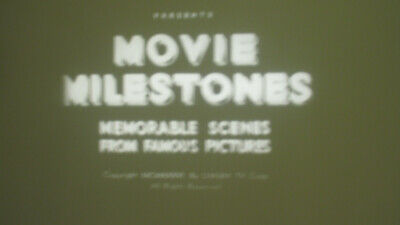 Movie Milestones Super 8 B/W Sound 200Ft Cine 8Mm Film