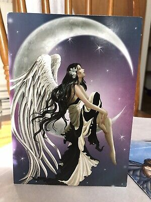 Angel On Mood Blank Greeting Card With Envelope