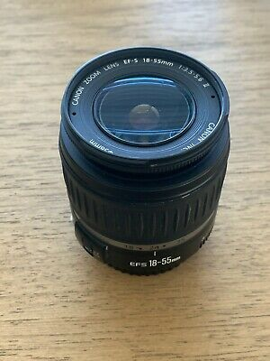 Canon Zoom EF-S 18-55mm f/3.5-5.6 IS II  Lens for Canon SLR Cameras