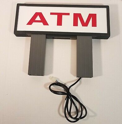 Lighted ATM Topper (One Sided)  - Unknown Brand/Model - Read Description