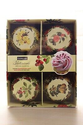 Eddingtons Cup Cake Collection Botanicals 100 Cases Brand new in box