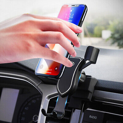 360° Car Air Vent Mount Cradle Phone Holder Stand for VW T-Roc 2017 2018 2019