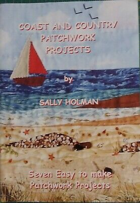 Coast and Country Patchwork Projekts, Sally Holman, Mini Quilts Landschaften