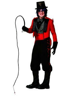 Twisted Attraction Circus Ring Master Adult Costume One Size