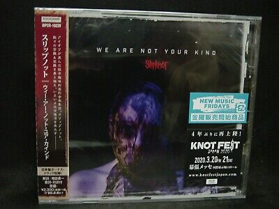 SLIPKNOT We Are Not Your Kind + 1 JAPAN CD Stone Sour Extreme/Alternative Metal