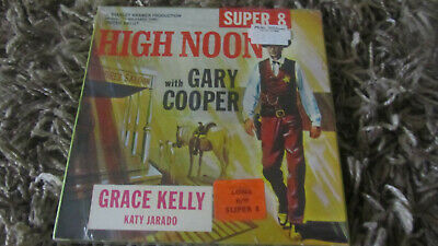 High Noon Gary Cooper Super 8 B/W Silent 200Ft Cine Film 8Mm