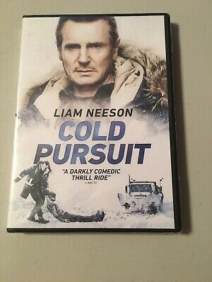 COLD PURSUIT (DVD,2019) New Sealed Dark Comedy