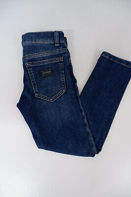 Dolce & Gabbana D&G Skinny Blue Stretch Jeans Age 6 Years VGC Boys