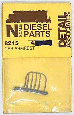DETAIL ASSOCIATES BRASS American HO Scale Detailing Parts Multi Listing