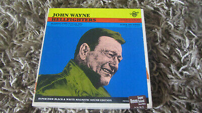 Hellfighters Super 8 B/W Sound 200Ft Cine Film 8Mm John Wayne
