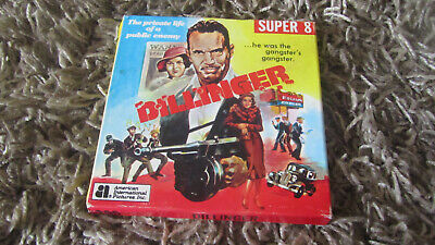 Dillinger Super 8 Colour Sound 200Ft Cine Film 8Mm