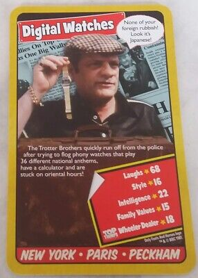 TOP TRUMPS Only Fools and Horses Single Cards