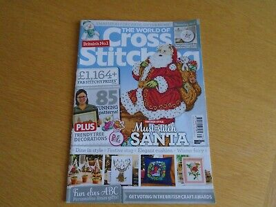 THE WORLD OF Cross Stitching   Issue 275   2018   Christmas