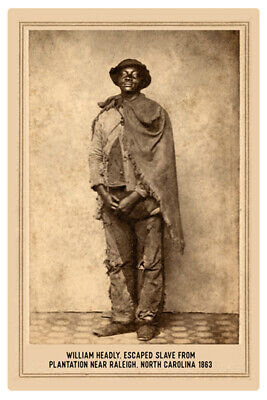 BUFFALO SOLDIER African American Tennessee VINTAGE RP Cabinet Card PHOTOGRAPH