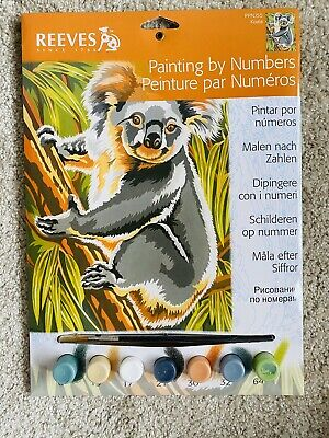 REEVES PAINT BY NUMBERS FREE P+P