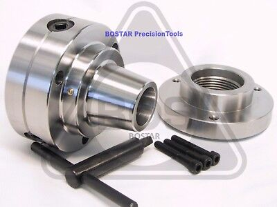 "1-1//2/"" x 8 Thread 5C Collet Lathe Chuck Closer With Semi-finished Adp"