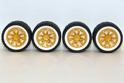 LEGO Lot of 4 RIM WIDE W.CROSS 30X20 Select Color 56145