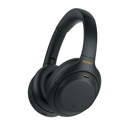 Sony Wireless Noise Canceling Over-Ear Headphones,Black WH-1000XM4