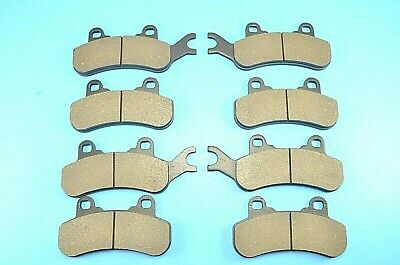 2017 2018 2019 fits Can-Am Defender Max HD8 Front and Rear Brake Pads Severe Duty