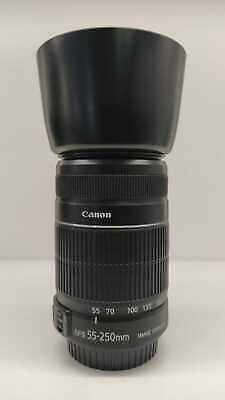 Canon Efs 55-250 Mmf 4-5,6 Is2 Con Et 60