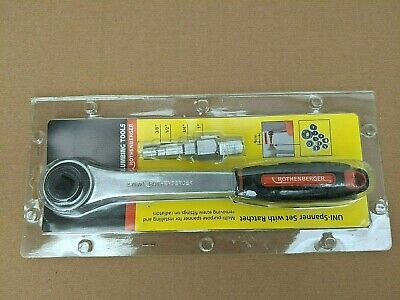 * Rothenberger Uni Spanner Ratchet Set 7.3297