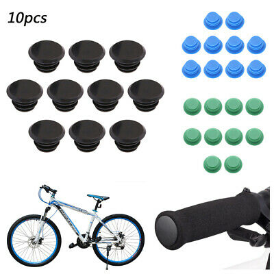 10x Road Bicycle Bike MTB Handlebar End Lock-On Plugs Caps Grips Handle Bar Ends