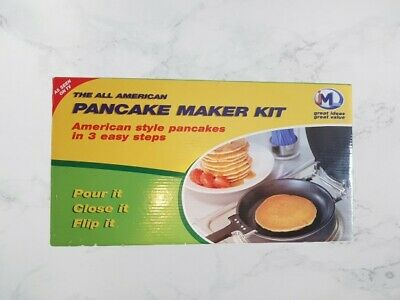 THE ALL AMERICAN PANCAKE MAKER KIT - American Style Pancakes in 3 Easy Steps