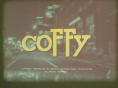 Coffy Super 8 Colour Sound 400Ft Cine Film 8Mm Pam Grier