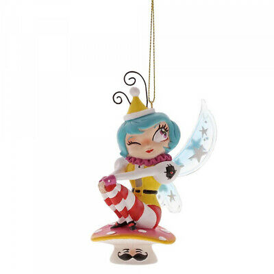 NEW World of Miss Mindy Cotton Candy Mermaid Fairy Christmas Tree Car Ornament