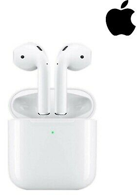 Genuine Apple AirPods 2nd Generation iphone wireless Earbuds with Charging Case