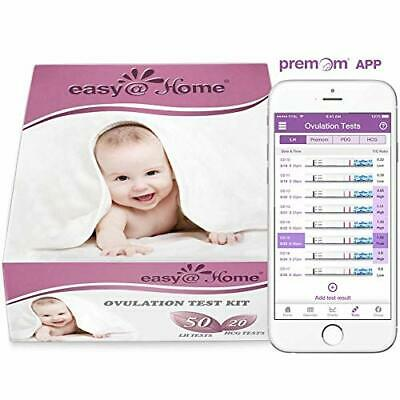 Easy@Home 50 x Ovulation Test Strips and 20 x Pregnancy Test Strips - Fertility