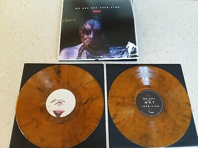 Slipknot – We Are Not Your Kind 2-LP Signed Clown Whiskey Vinyl Limited Edition