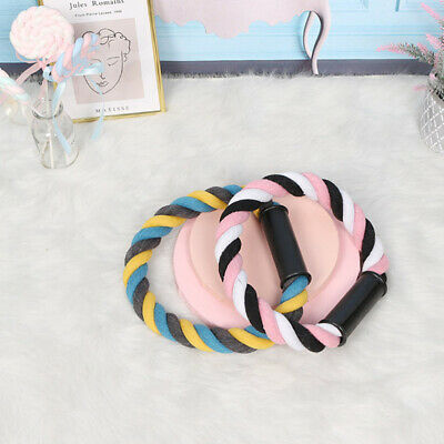 Braided Cotton Rope Ring Dog Chewing Toy Creative Colored Dog Toys Pet Supplies